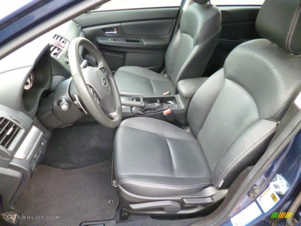 2012 Subaru Impreza Limited 5 Door Interior Color