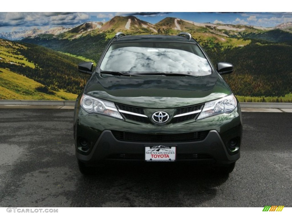 2013 spruce green mica toyota rav4 le awd 85744696 photo. Black Bedroom Furniture Sets. Home Design Ideas
