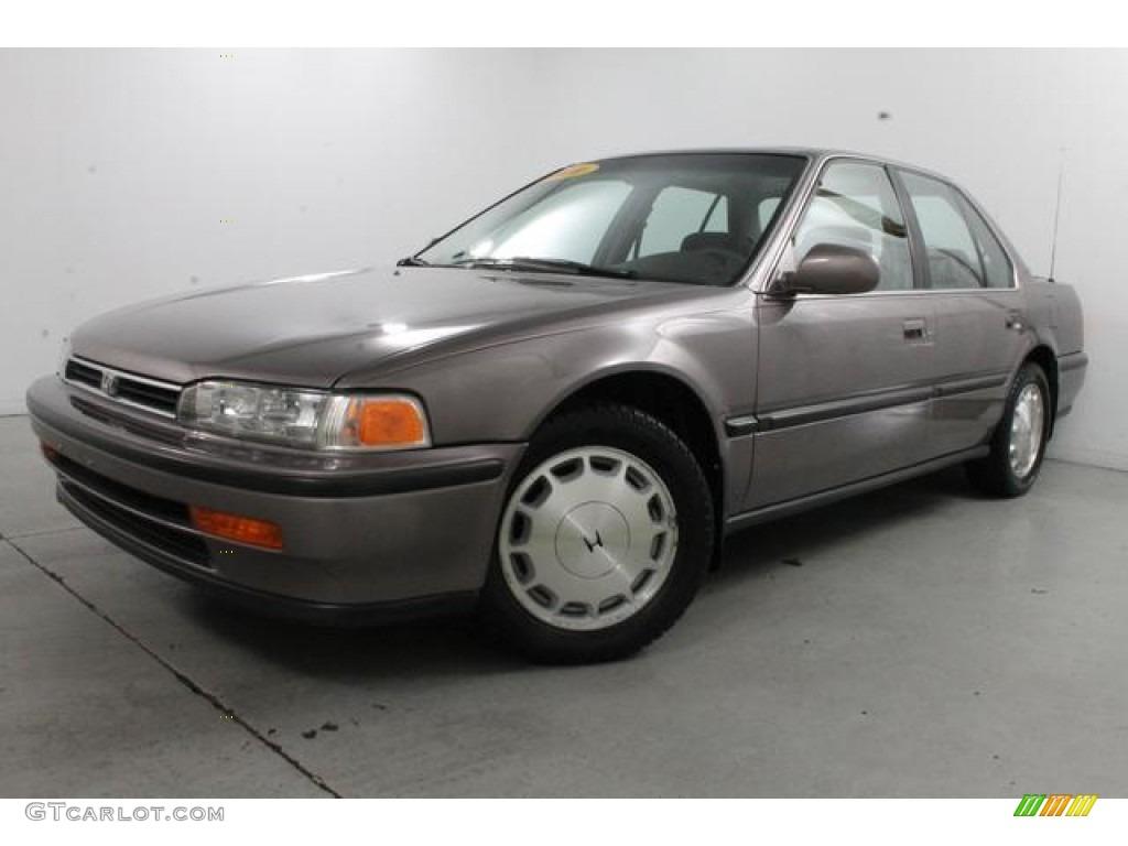 Rosewood Brown Metallic 1993 Honda Accord Ex Sedan Exterior Photo  85759791
