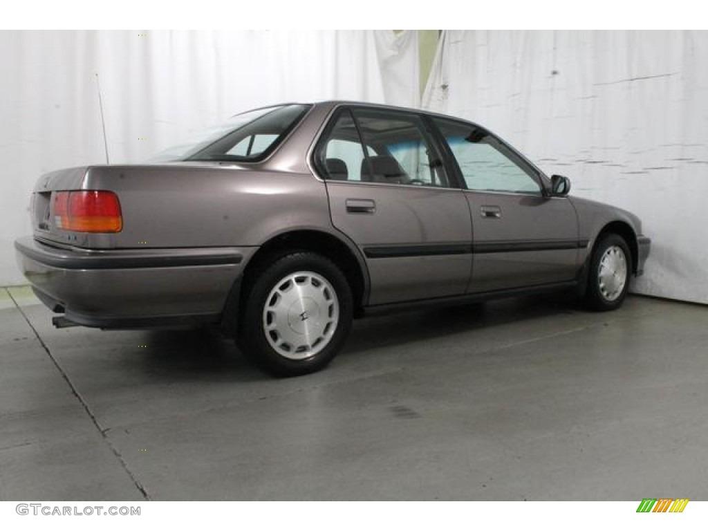 Rosewood Brown Metallic 1993 Honda Accord Ex Sedan