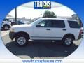 Oxford White 2004 Ford Explorer XLS 4x4