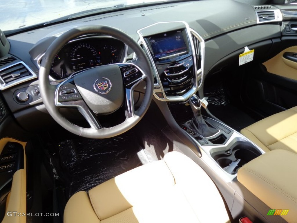 Caramel Ebony Interior 2014 Cadillac Srx Luxury Awd Photo 85780084