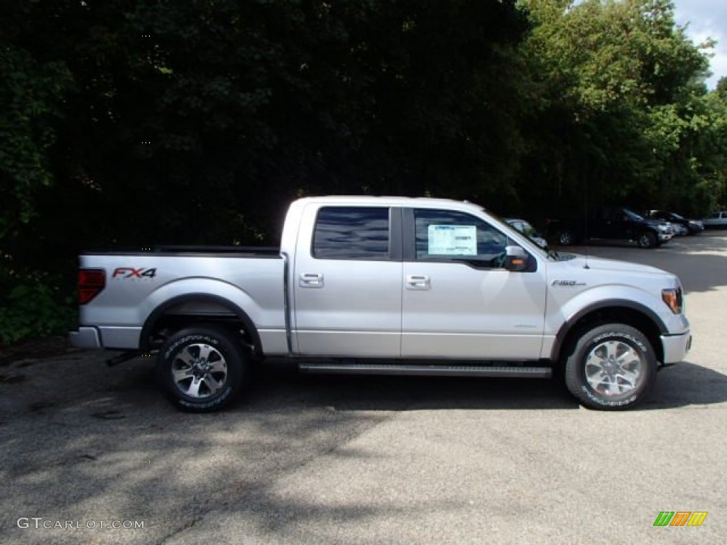 Kodiak Brown F150 >> 2013 Ingot Silver Metallic Ford F150 FX4 SuperCrew 4x4 #85777559 | GTCarLot.com - Car Color ...
