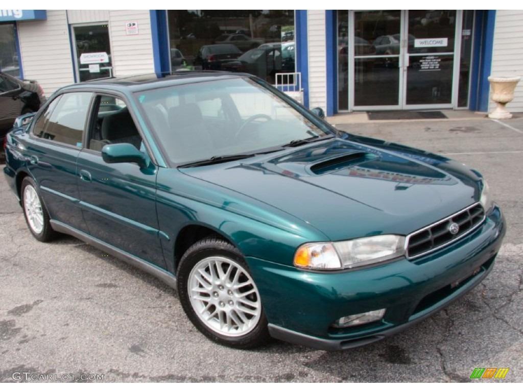 Spruce Green Pearl 1999 Subaru Legacy Gt Sedan Exterior Photo 85797186 Gtcarlot Com