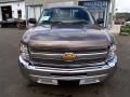 2013 Mocha Steel Metallic Chevrolet Silverado 1500 Work Truck Regular Cab  photo #2