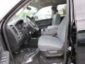 Black/Diesel Gray Front Seat Photo for 2014 Ram 1500 #85812109