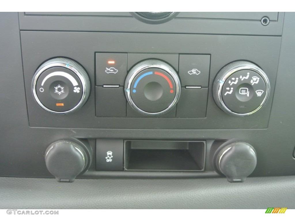 2012 Silverado 1500 LS Regular Cab 4x4 - Black / Dark Titanium photo #14