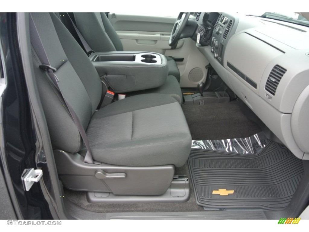 2012 Silverado 1500 LS Regular Cab 4x4 - Black / Dark Titanium photo #18