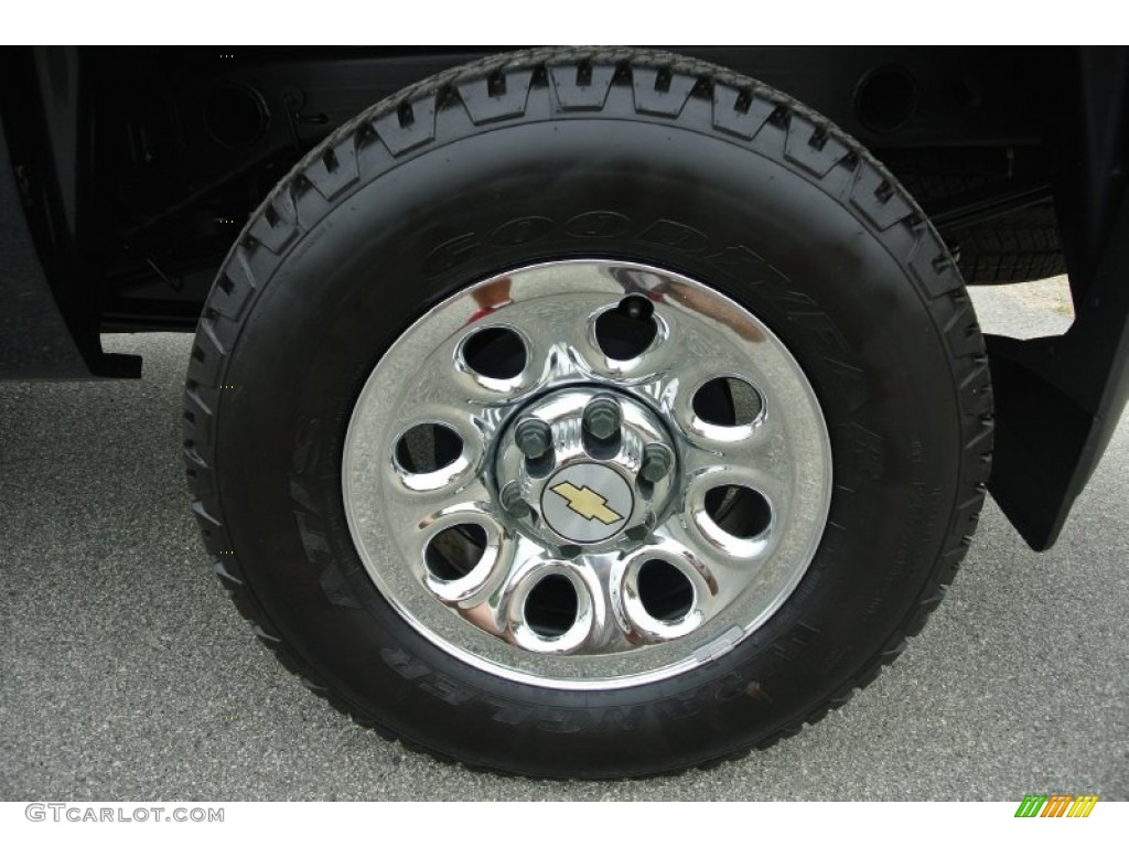 2012 Silverado 1500 LS Regular Cab 4x4 - Black / Dark Titanium photo #23