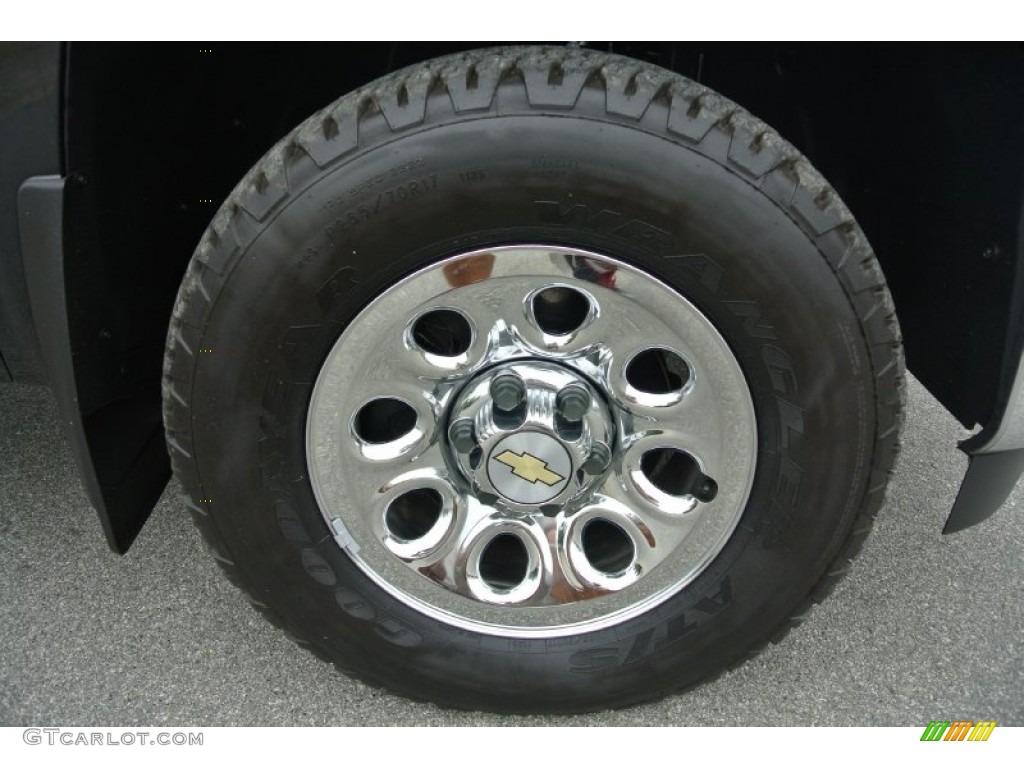 2012 Silverado 1500 LS Regular Cab 4x4 - Black / Dark Titanium photo #25