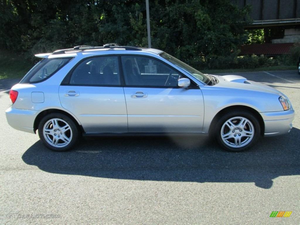 Platinum Silver Metallic 2004 Subaru Impreza Wrx Sport