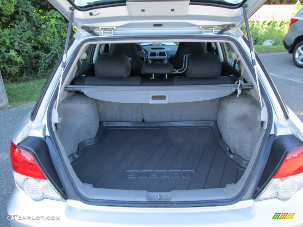 2004 Subaru Impreza Wrx Sport Wagon Trunk Photos