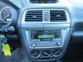2004 Subaru Impreza Dark Gray Interior Controls Photo