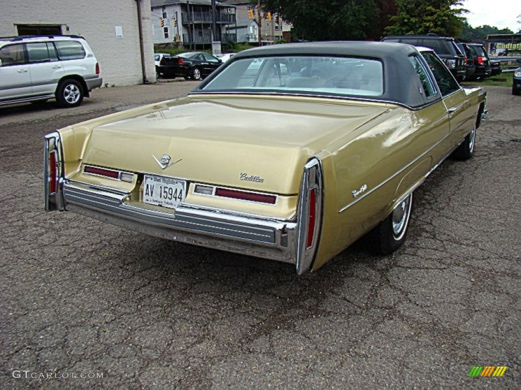 1976 deville coupe florentine gold firemist light ivory gold photo. Cars Review. Best American Auto & Cars Review