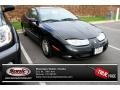 Black 2001 Saturn S Series SC2 Coupe