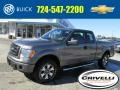 Sterling Gray Metallic 2012 Ford F150 STX SuperCab 4x4