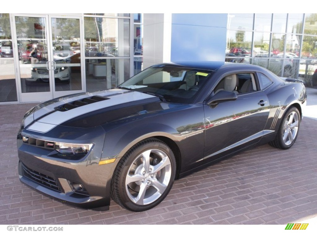 ashen gray metallic 2014 chevrolet camaro ss rs coupe. Black Bedroom Furniture Sets. Home Design Ideas