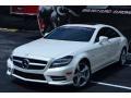 Diamond White Metallic - CLS 550 Coupe Photo No. 8