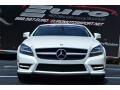 Diamond White Metallic - CLS 550 Coupe Photo No. 28