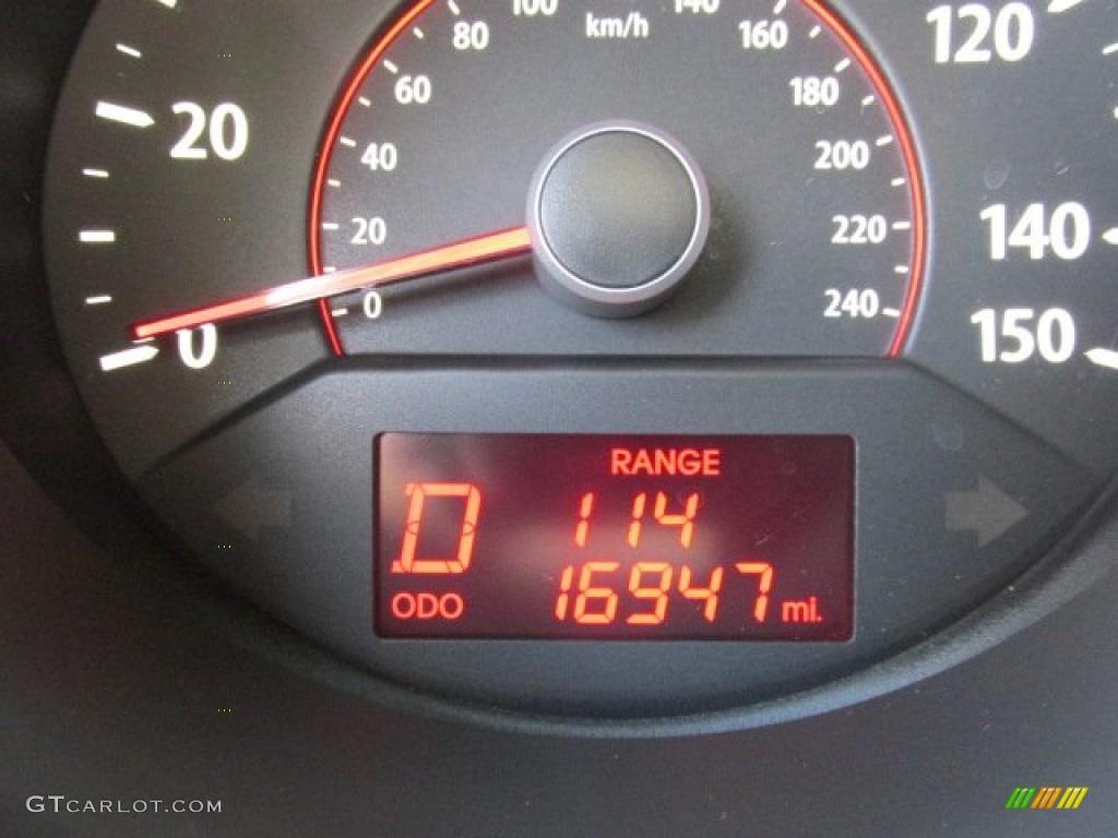 2011 Sorento EX V6 AWD - Spicy Red / Beige photo #20