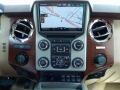2014 Ford F250 Super Duty King Ranch Chaparral Leather/Adobe Trim Interior Navigation Photo