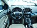 2014 Deep Impact Blue Ford Escape Titanium 1.6L EcoBoost  photo #8