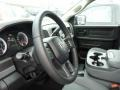 Black/Diesel Gray Steering Wheel Photo for 2014 Ram 1500 #85878247