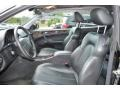 2000 CLK 320 Coupe Charcoal Interior