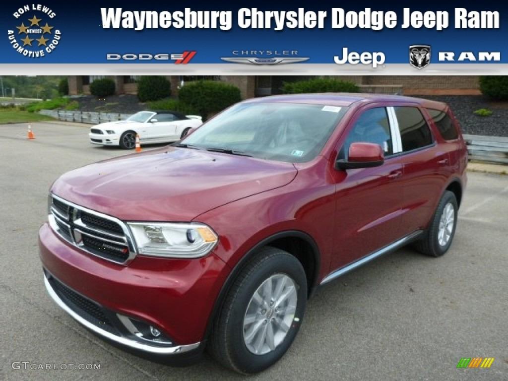 2014 Deep Cherry Red Crystal Pearl Dodge Durango Sxt Awd 85854236 Gtcarlot Com Car Color Galleries