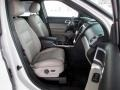 2011 White Suede Ford Explorer XLT  photo #11