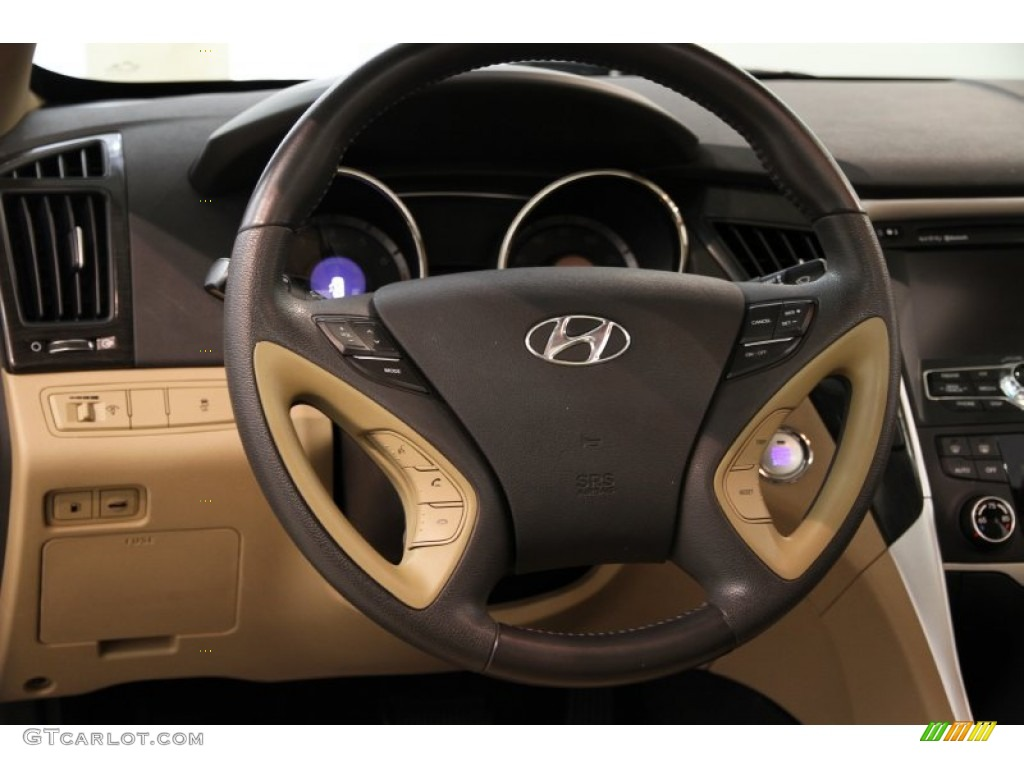 2011 Hyundai Sonata Limited Steering Wheel Photos