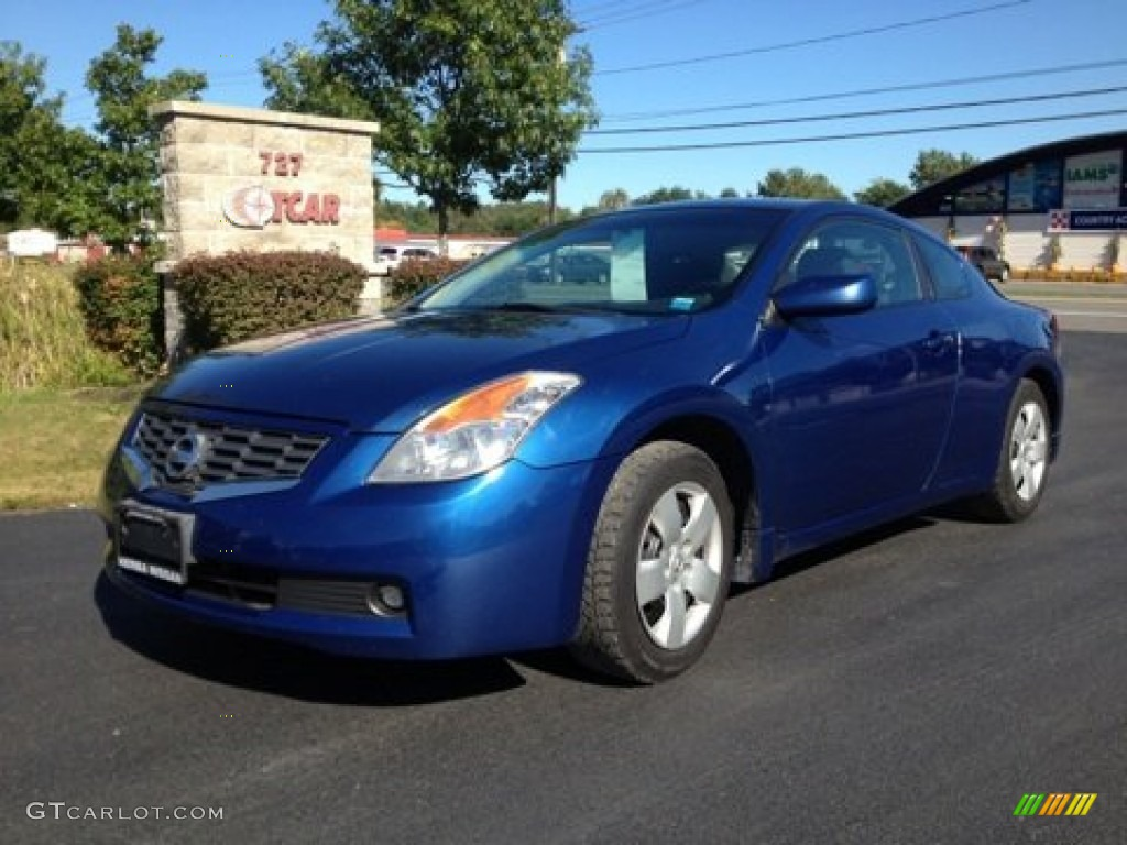 2008 Azure Blue Metallic Nissan Altima 2 5 S Coupe 85854296 Gtcarlot Com Car Color Galleries