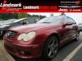Firemist Red Metallic - CLK 500 Coupe Photo No. 1