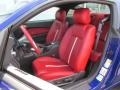 Brick Red/Cashmere Accent 2014 Ford Mustang Interiors