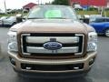 2012 Golden Bronze Metallic Ford F250 Super Duty King Ranch Crew Cab 4x4  photo #7