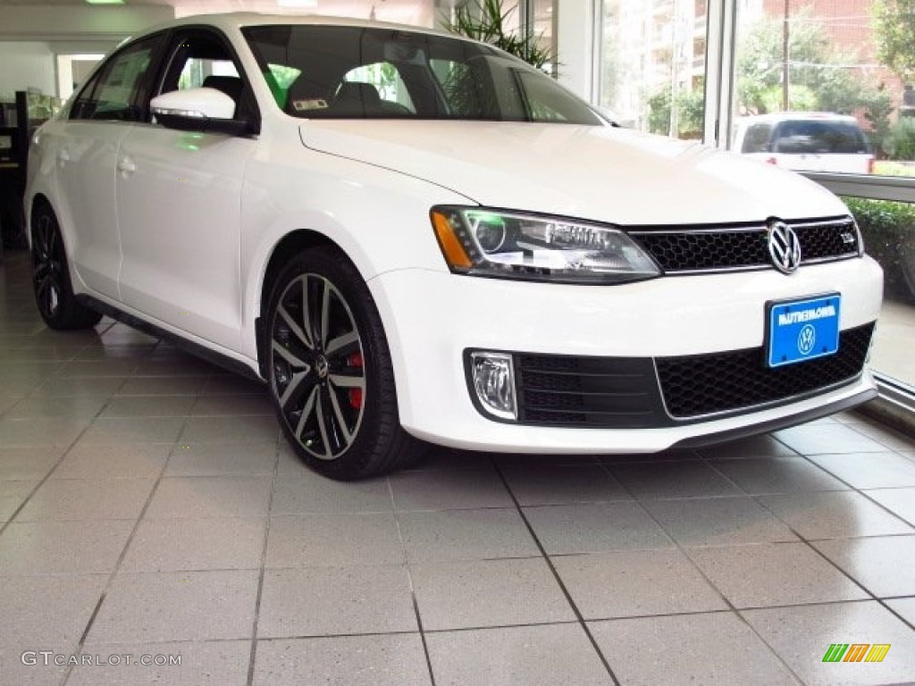 2014 Jetta GLI Autobahn - Pure White / Titan Black photo #1