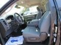 Black/Diesel Gray Front Seat Photo for 2014 Ram 1500 #85919823