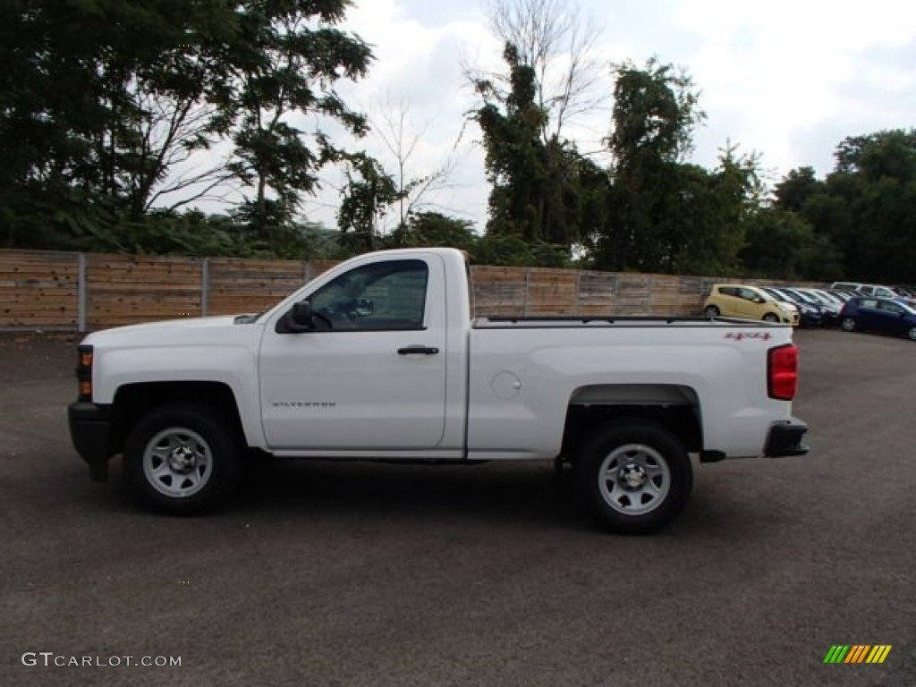 2014 summit white chevrolet silverado 1500 wt regular cab 4x4 85907928 car. Black Bedroom Furniture Sets. Home Design Ideas