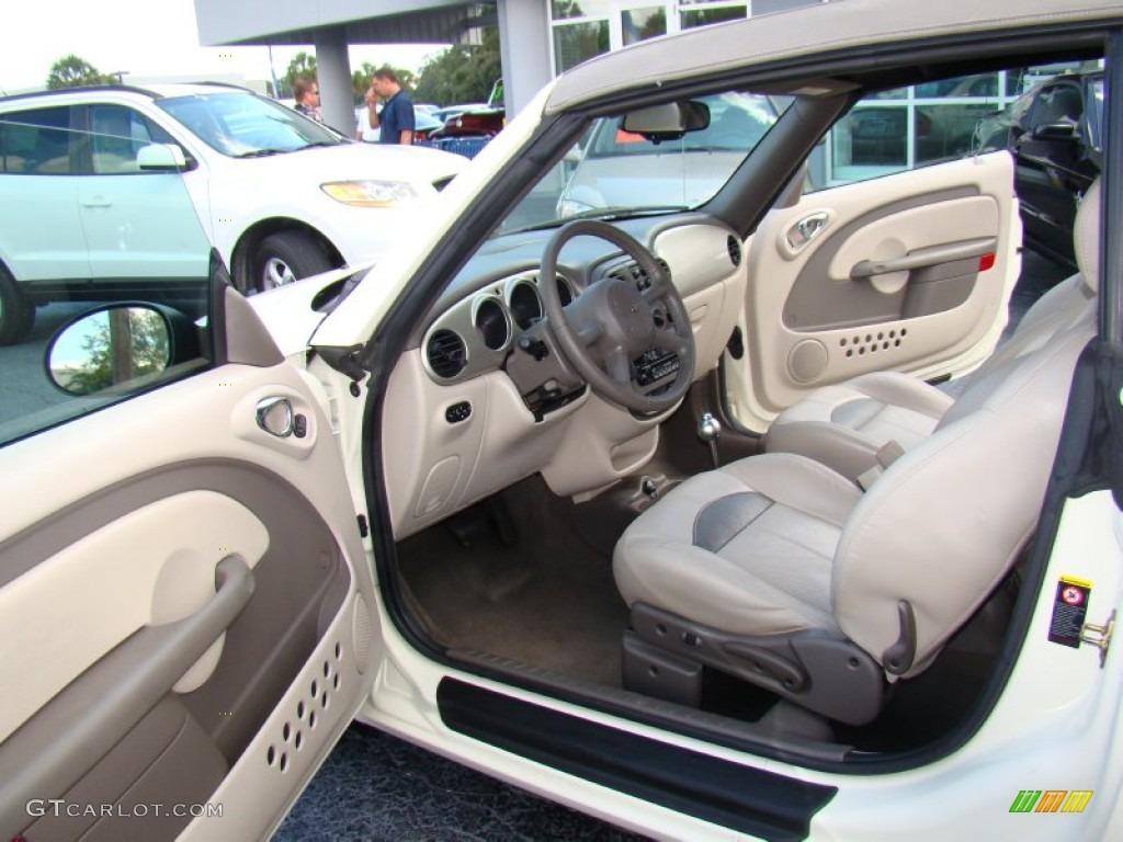 2005 Chrysler PT Cruiser GT Convertible Interior Color Photos