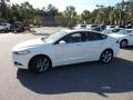 2013 Oxford White Ford Fusion SE 2.0 EcoBoost  photo #2