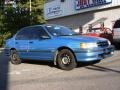 Blue Metallic - Tercel DX Sedan Photo No. 6