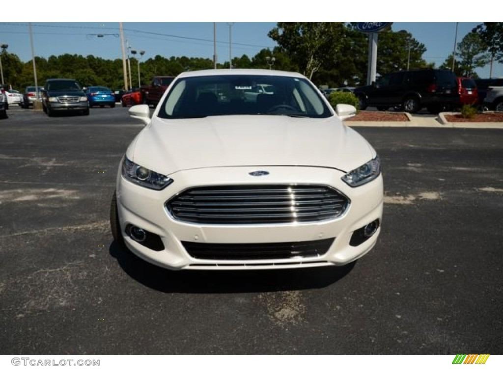 2014 white platinum ford fusion hybrid titanium 85907694 photo 2 car color. Black Bedroom Furniture Sets. Home Design Ideas