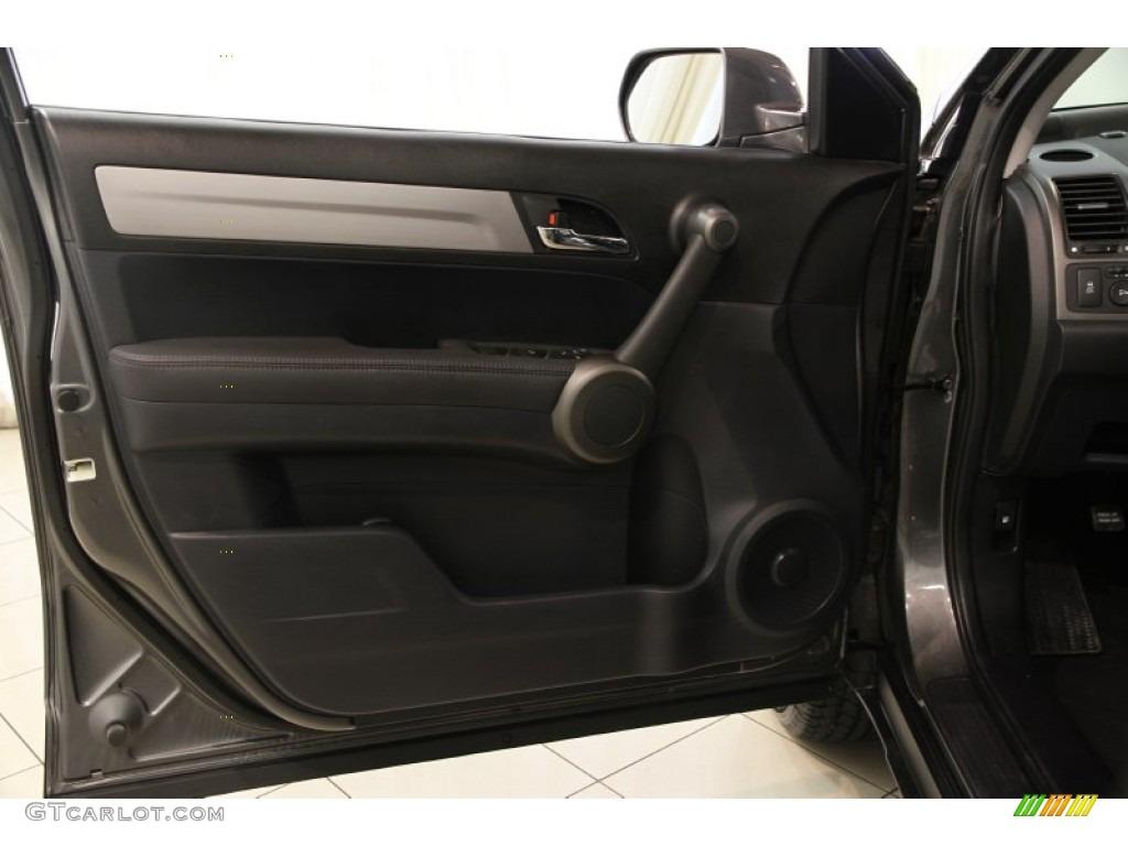2011 CR-V EX-L 4WD - Polished Metal Metallic / Black photo #4