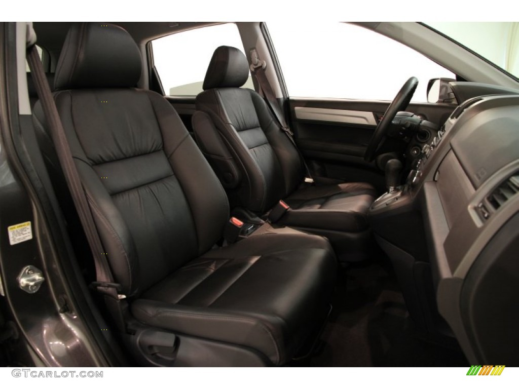 2011 CR-V EX-L 4WD - Polished Metal Metallic / Black photo #11