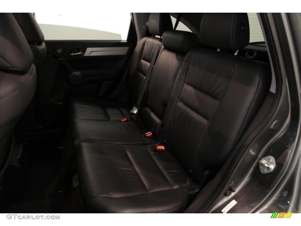 2011 CR-V EX-L 4WD - Polished Metal Metallic / Black photo #13