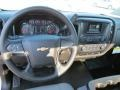 Jet Black/Dark Ash Steering Wheel Photo for 2014 Chevrolet Silverado 1500 #85963575