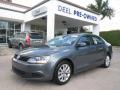 Platinum Gray Metallic 2011 Volkswagen Jetta SE Sedan