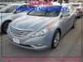 Iridescent Silver Blue Pearl 2013 Hyundai Sonata Gallery