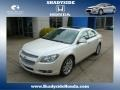 White Diamond Tricoat 2010 Chevrolet Malibu LTZ Sedan
