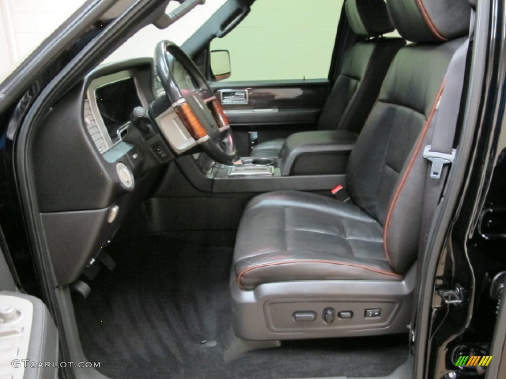 2008 Black Lincoln Navigator L Elite 4x4 85961232 Photo 17 Car Color Galleries